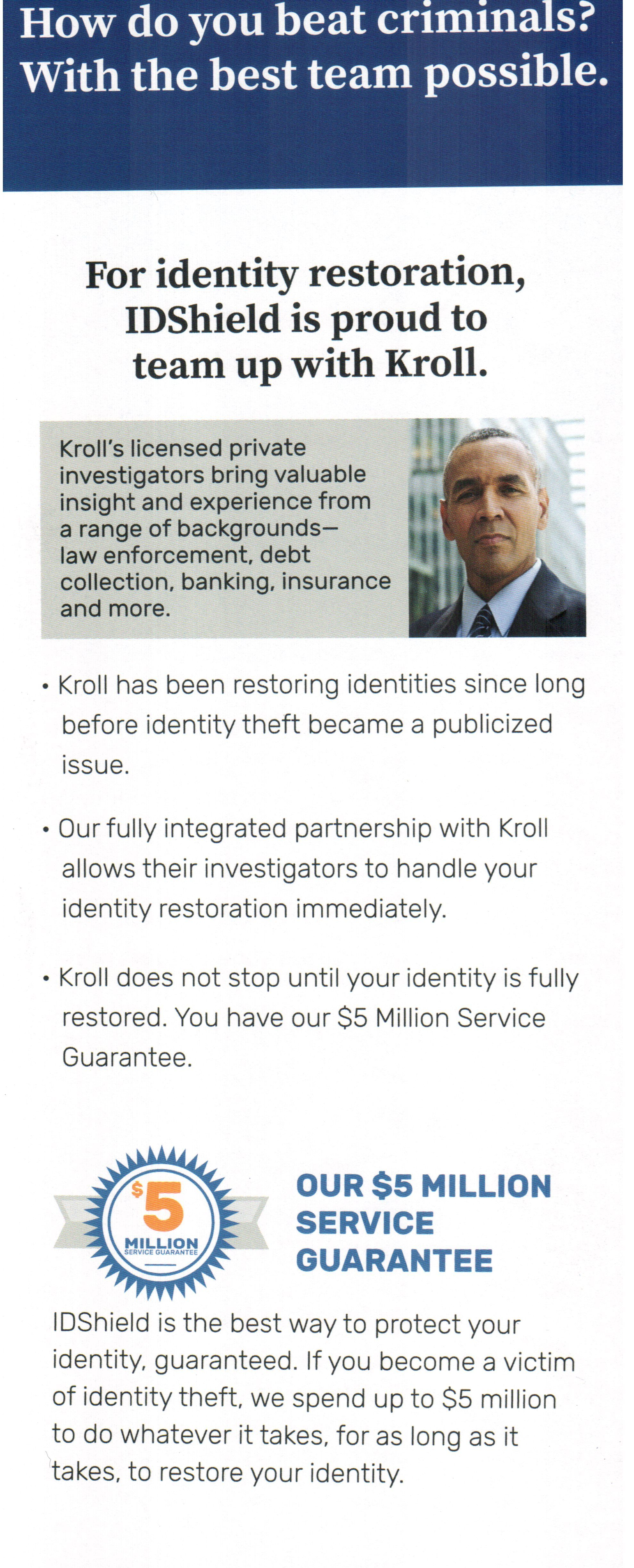 Kroll S Licensed Private Investigators Bring Valuable Insight And Experience From A Range Debt Collection Community Reinvestment Act Identity Theft Protection
