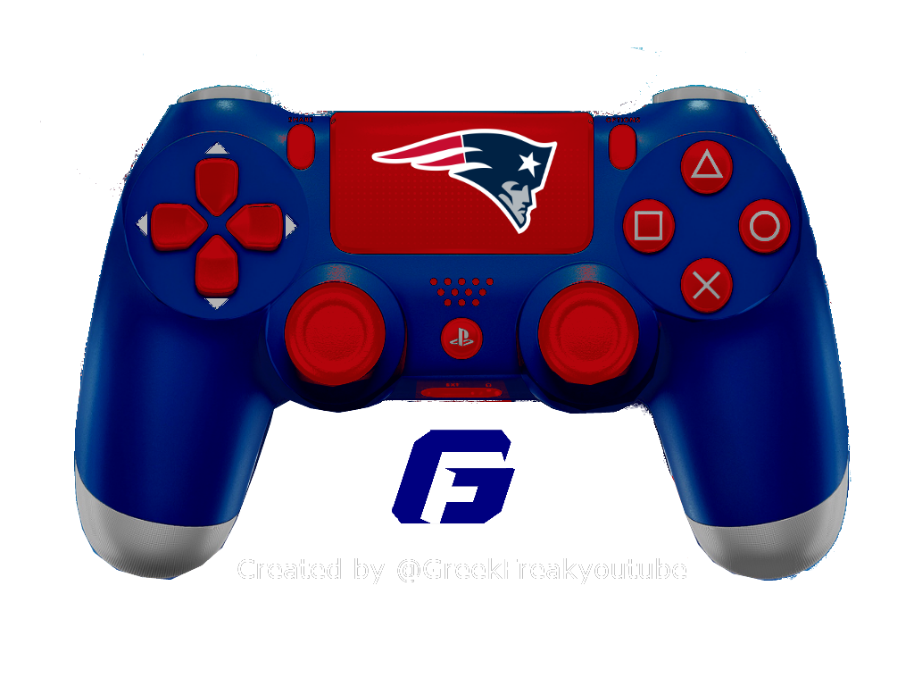 Check Out All My Nfl Ps4 Controller Concept New England Design Patriots Playstation Nfl Newengland Newenglandpatriots Nfl Ps4 Controller Gaming Products