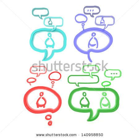 Each person have their own view and identity which creates viral social media network via gossip and referral to spread wider and wider. This idea is represent through 3D speech bubble sign and symbol