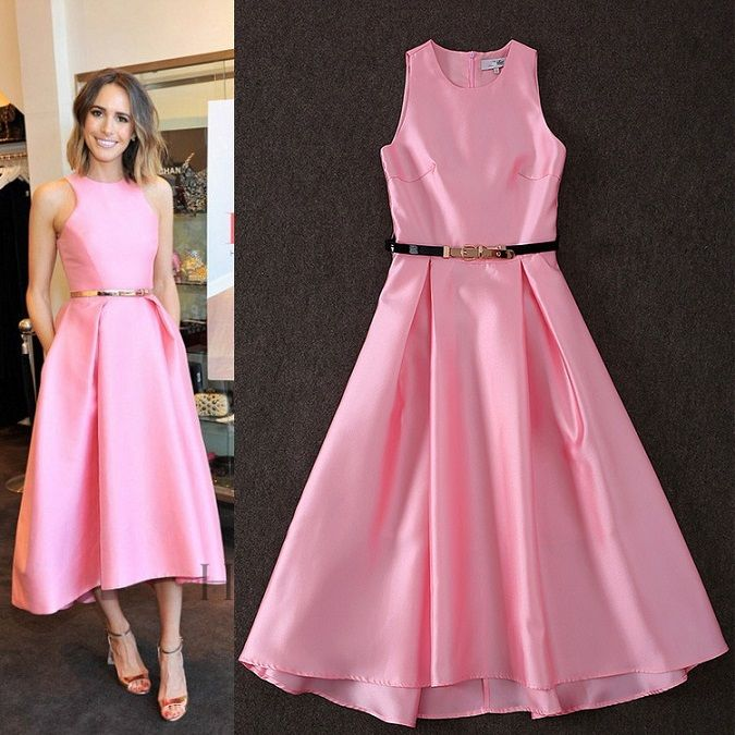 whatgoesgoodwith.com ladies-pink-dresses-07 #cuteoutfits | All ...