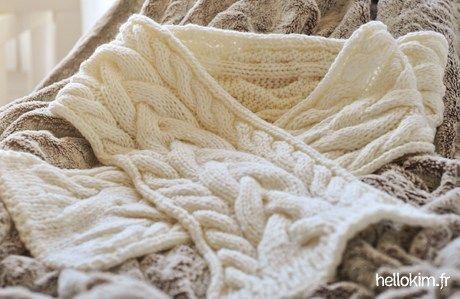 2a3818d4eb5f Melle Tricot une écharpe… pour moi !! « Hello Kim !   Idée tricot ...