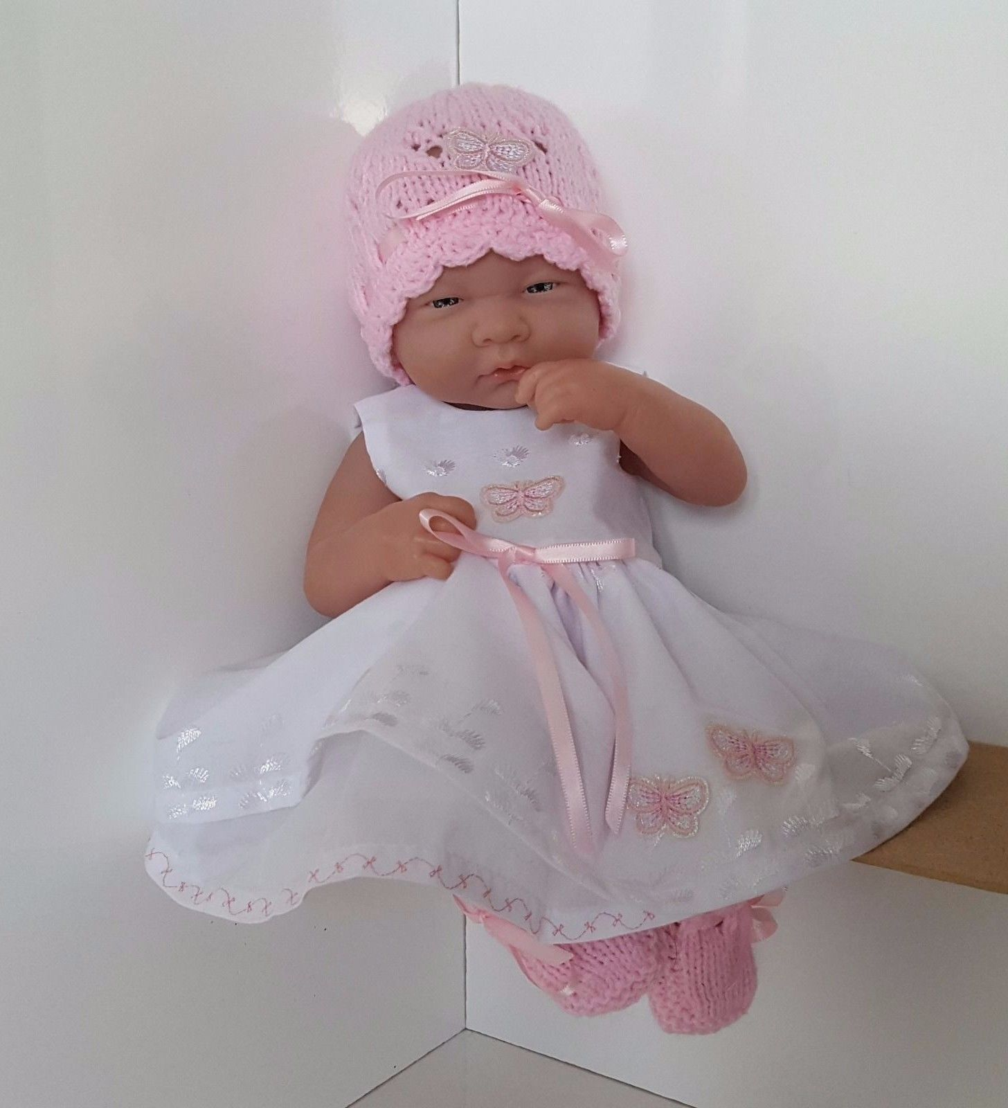 "Handmade Baby Dolls Clothes for 14"" BERENGUER CUPCAKE LA NEWBORN"