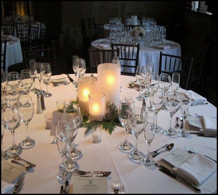 Winter Wedding Table Centerpiece Ideas