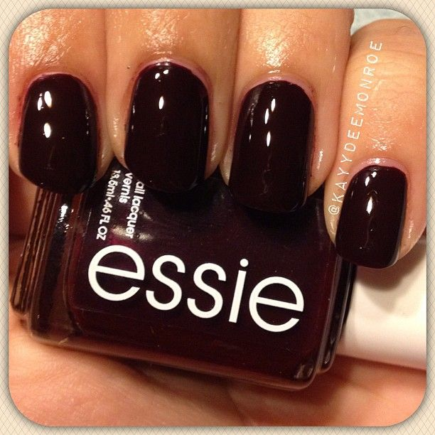 This Is Essie Wicked A Deep Brick Red Love It For Fall