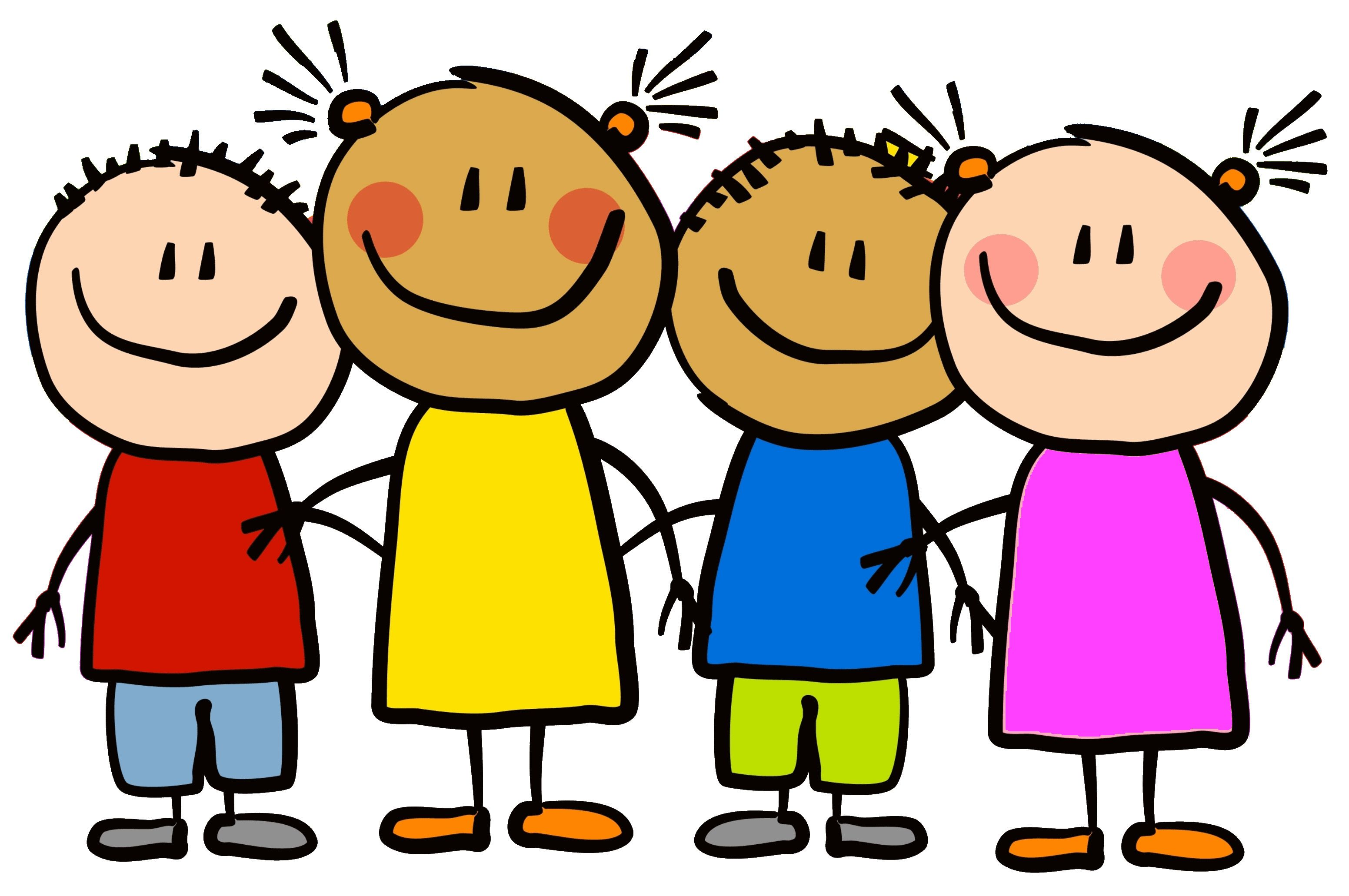 Children - Lets Break It Down | Clip art, Friends clipart, Art for ...