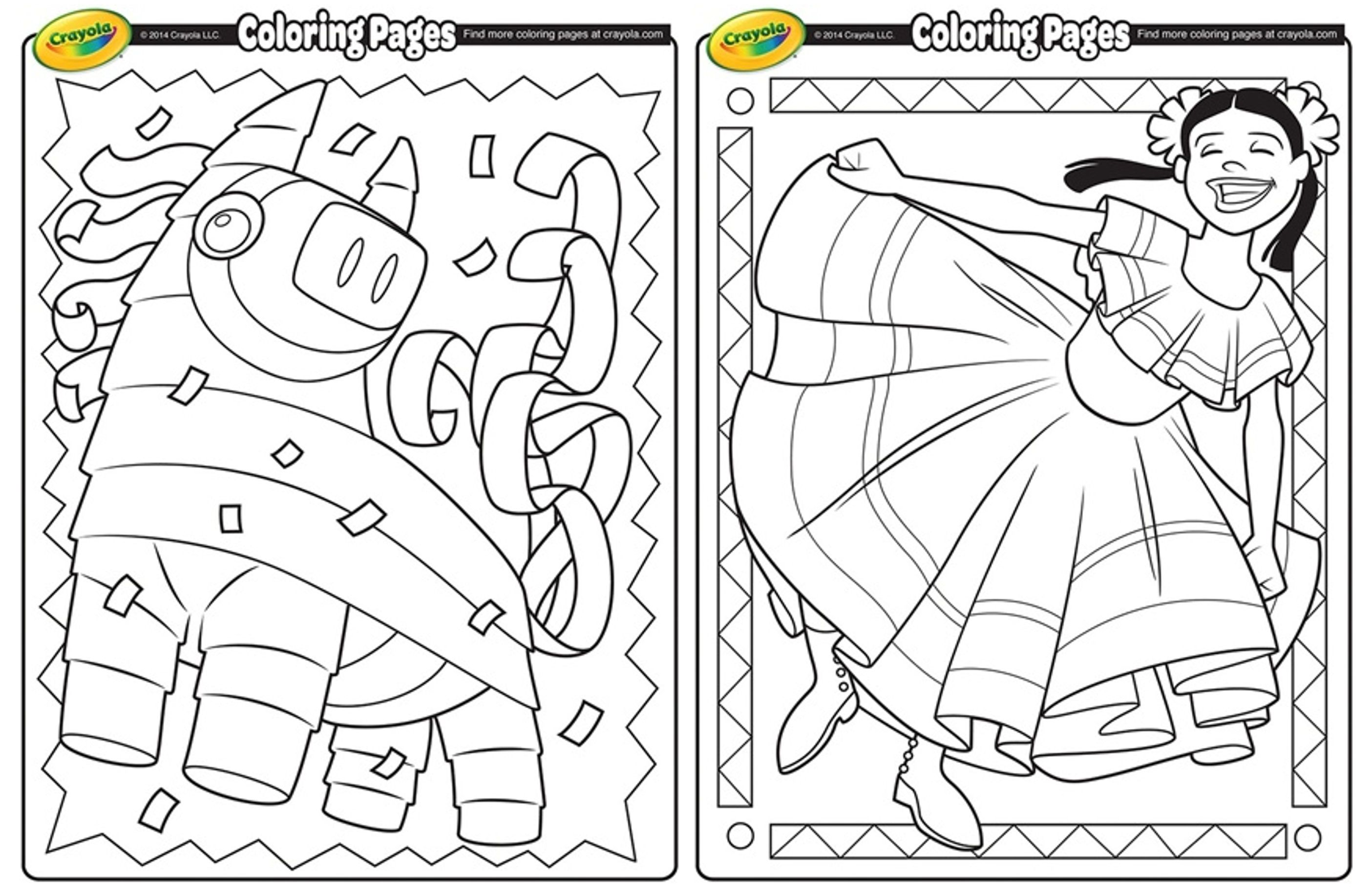 Cinco De Mayo Coloring Pages Printables 4 Mom Cinco De Mayo Coloring Pages Love Coloring Pages