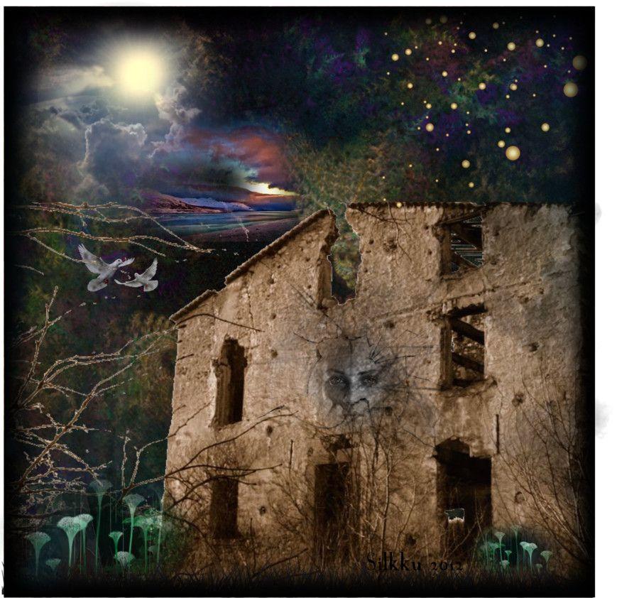 """Digital Art by *Silkku* """"The house spirit"""" silkkus.blogspot.fi"""