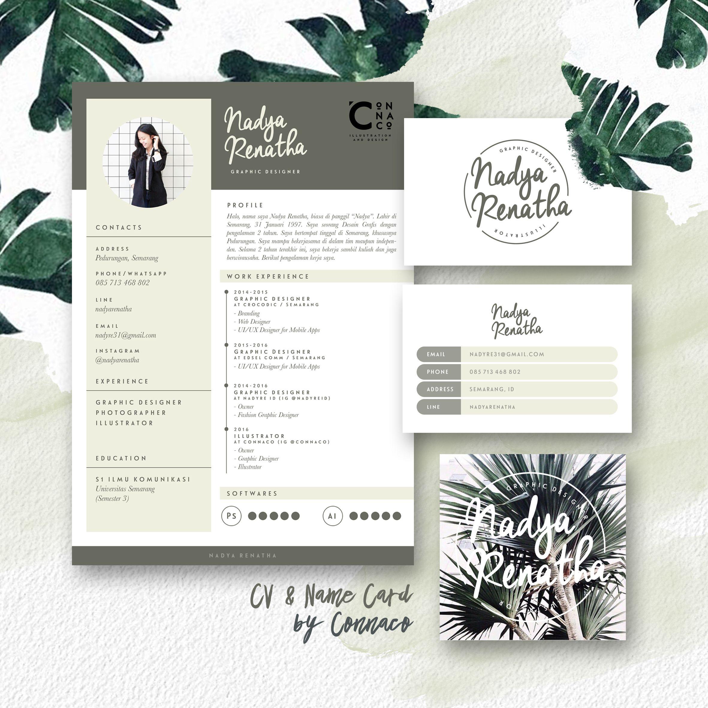 Personal Branding by Connaco - Logo - Name Card - CV | diseño ...