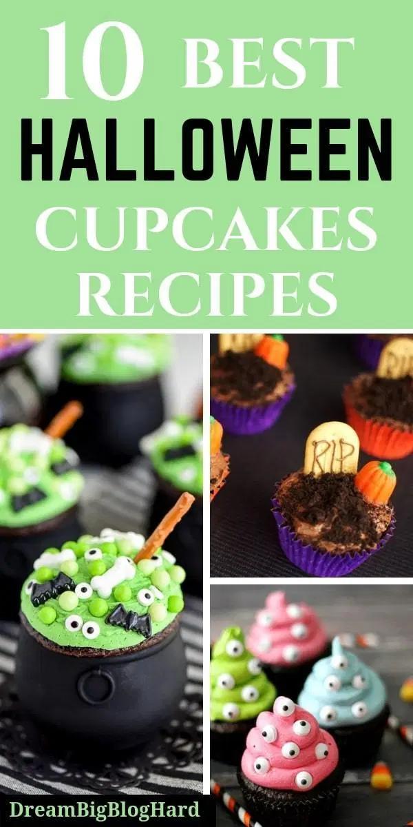 10 Best Halloween Cupcakes Ideas | Dream Big Blog Hard