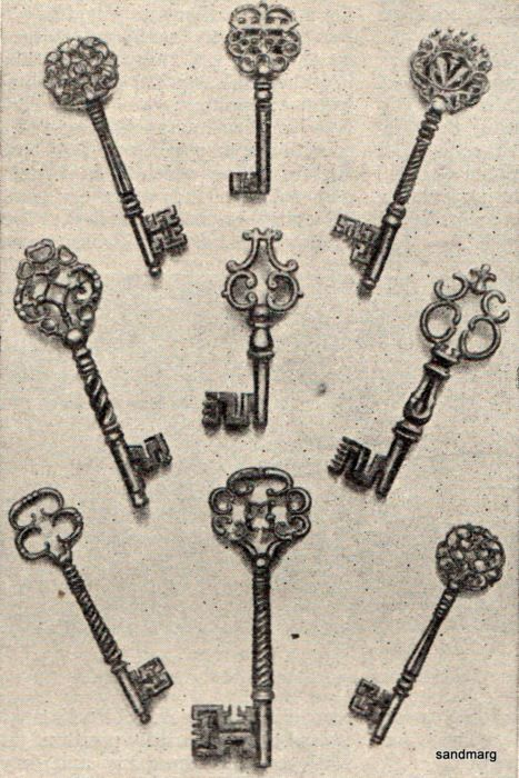 Love old skeleton keys