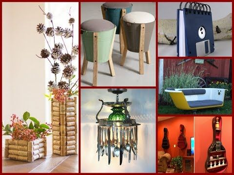35+ Best Decor Ideas From Old Things   DIY Recycle Projects