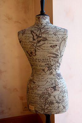 Dress-maker's mannequin in the bedroom for sure.