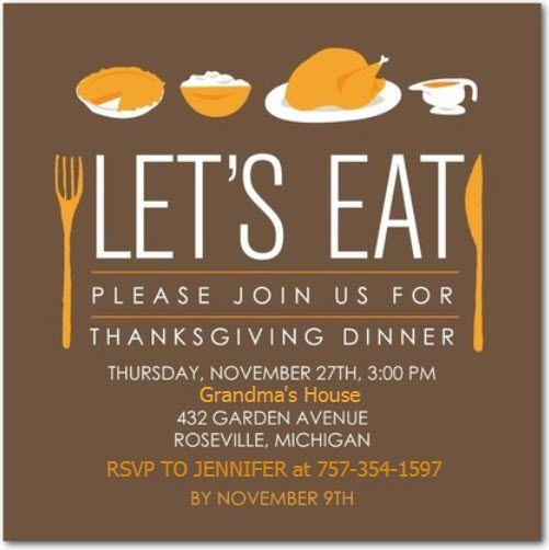 YouRe Gonna Laugh Grandmas Invitation For Thanksgiving