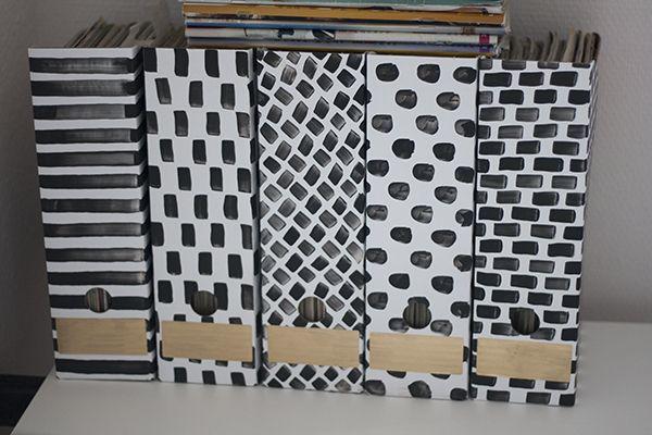 Ikea Hack Cheap Magazine Folder Restyle Organisation Pinterest Custom Cheap Magazine Holders