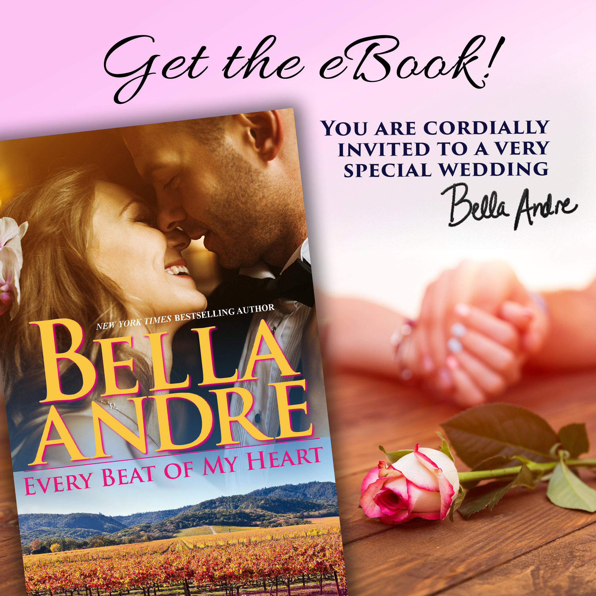 Every Beat Of My Heart The Sullivans By Bella Andre Celebration Giveaway Bella Andre Sullivans My Heart