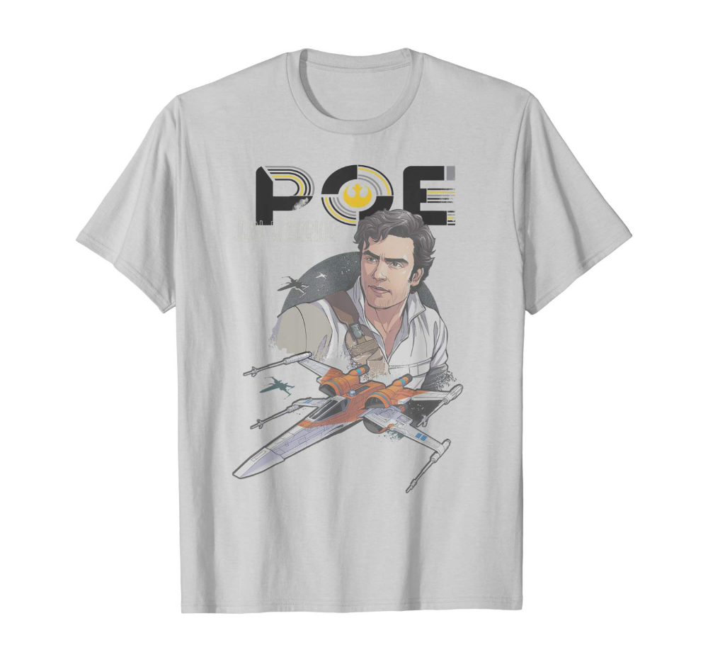 Poe Dameron Shirt For Star Wars The Rise Of Skywalker Tros Poedameron Starwars Triple Force Friday Shirt Round Up Friday Shirts Poe Dameron Star Wars Poster