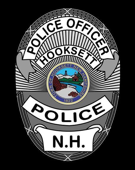 Hooksett Pd Nh Police Badge Police Officer Badge Badge