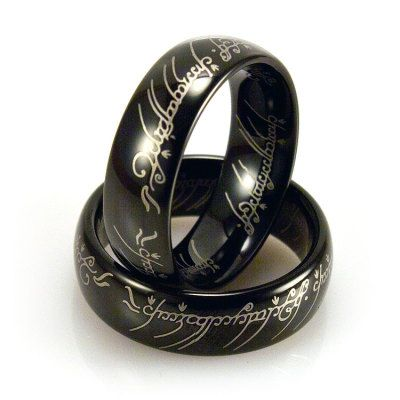 Light Tungsten Domed Black Ring - $16.99. https://www.tanga.com/deals/1ffe3459ae/light-tungsten-domed-black-ring