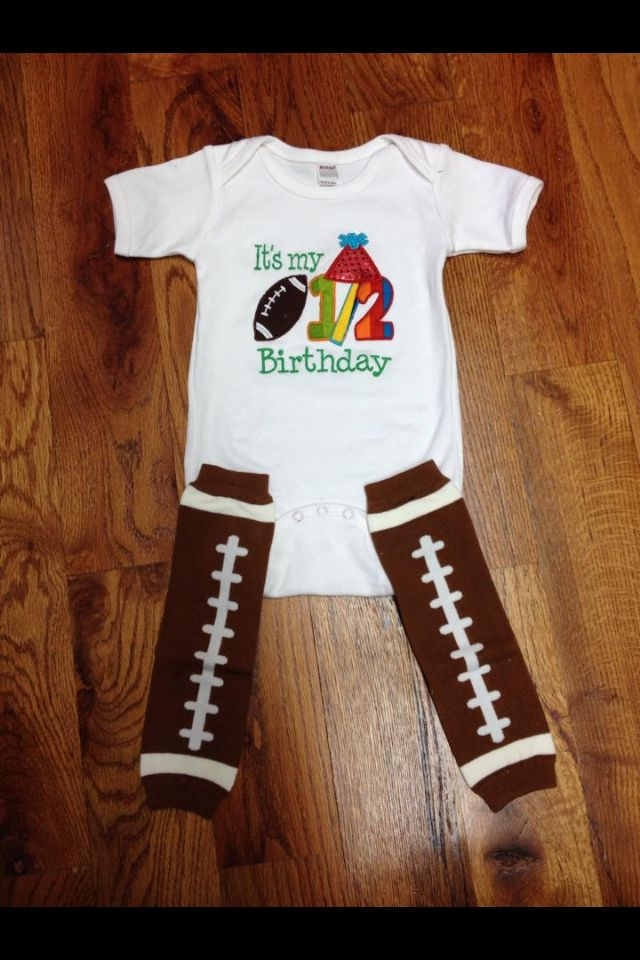 1/2 birthday outfit!!