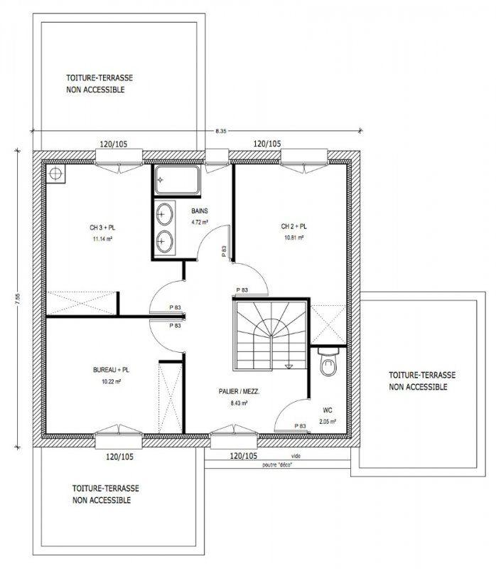 Afficher lu0027image du0027origine Maison - Plans Pinterest