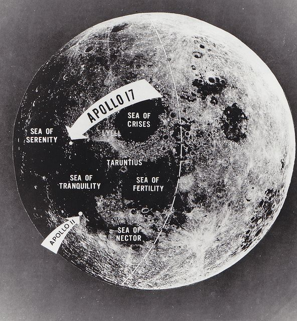 Archive Apollo Landing Sites With Images Nasa Space Program