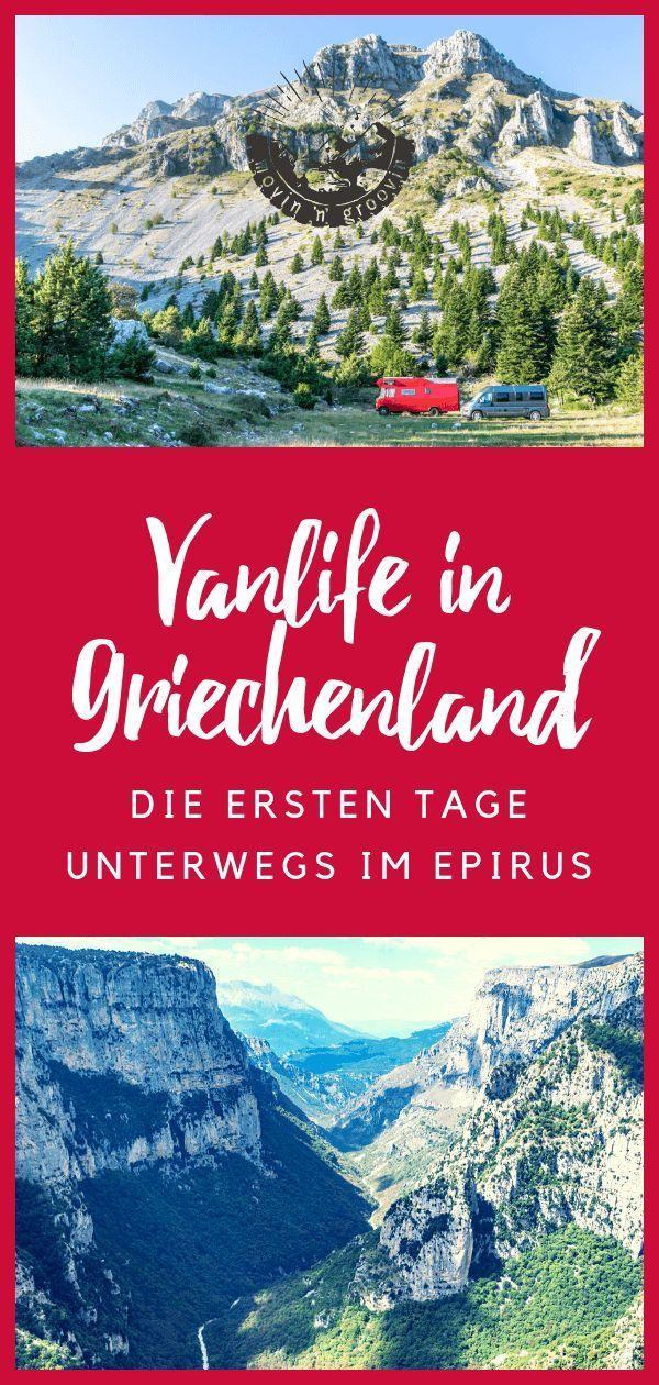 Nordgriechenland: Erste Eindrücke & Erlebnisse Im Epirus | Movin'n'Groovin