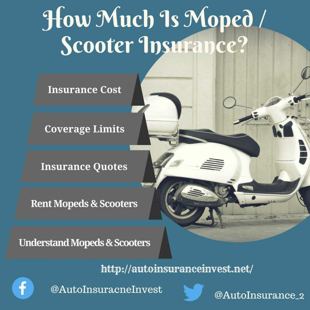 How Much Is Moped Scooter Insurance Moped Scooter Car