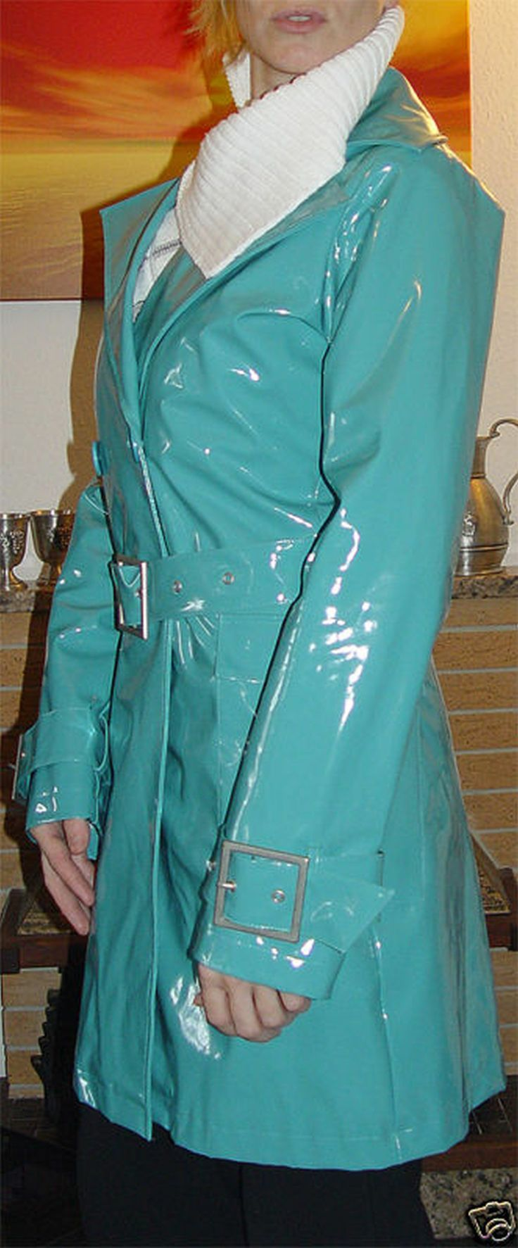 Bigg Pixel Green Raincoat Pinterest