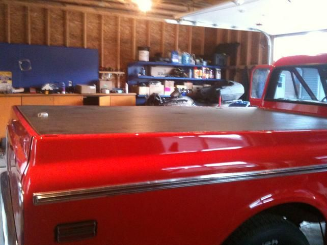 Homemade Tonneau Cover The 1947 Present Chevrolet