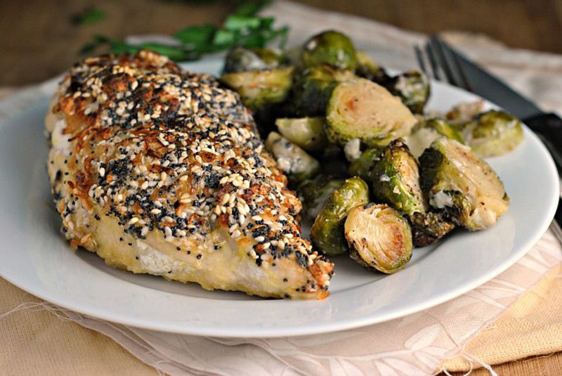CREAM CHEESE STUFFED EVERYTHING CHICKEN – Weight Watchers Recipes