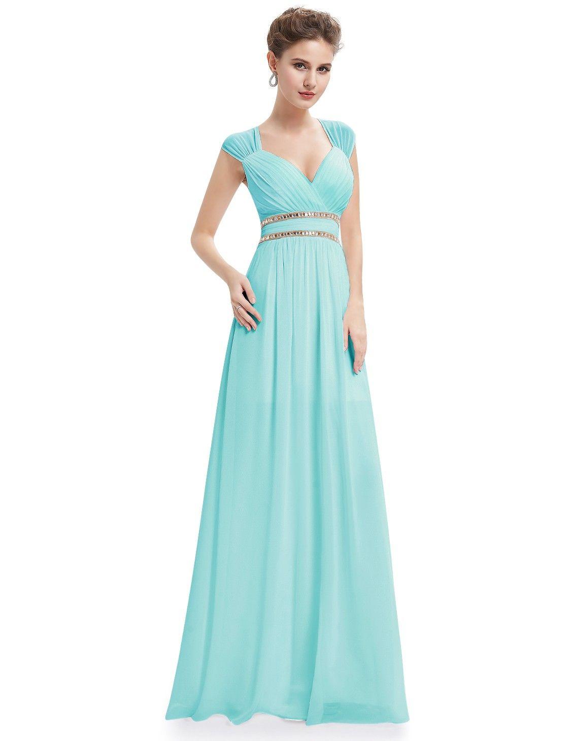 Sleeveless Grecian Style Evening Dress | Perfect prom dress, Grecian ...