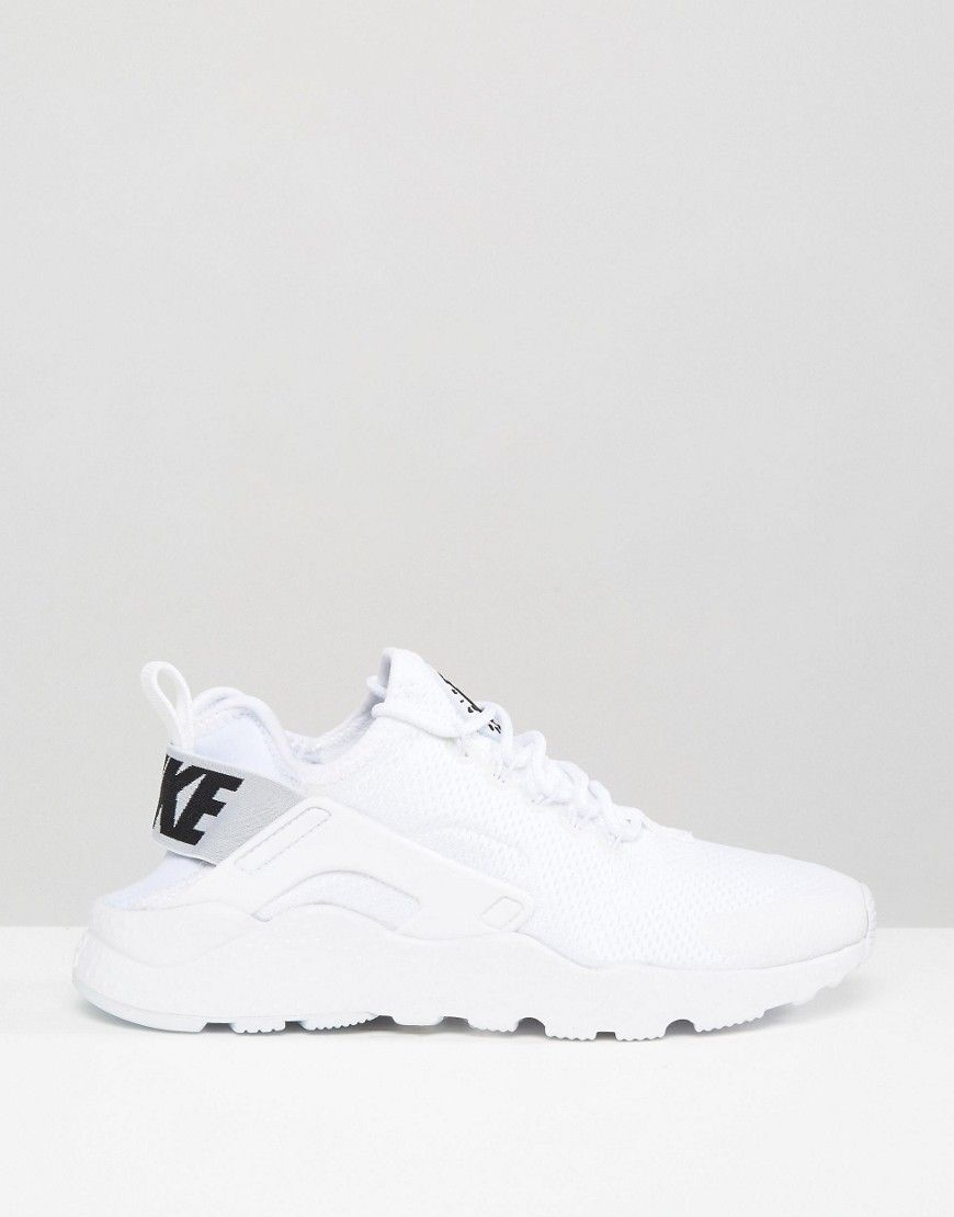 9a37a903d8b3 Image 2 of Nike Huarache Run Ultra Trainers In White