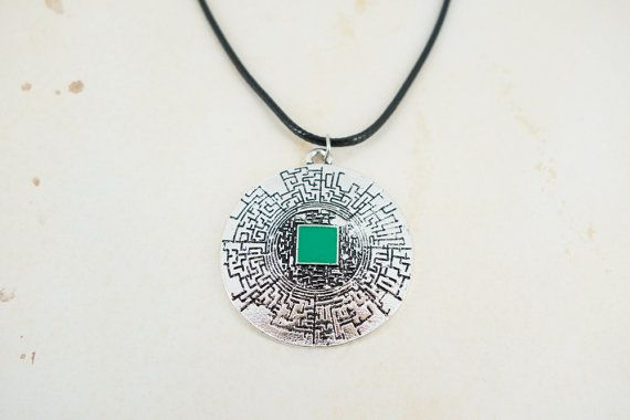 The Maze Runner Inspired Labyrinth Pendant by GeekMePretty on Etsy