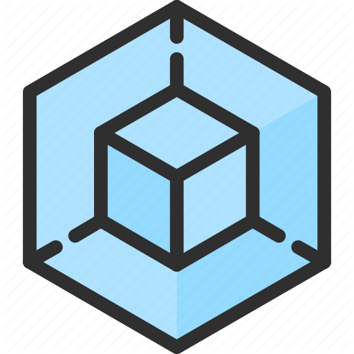 Cube Isometric Object Shape Icon Download On Iconfinder Isometric Icon Object