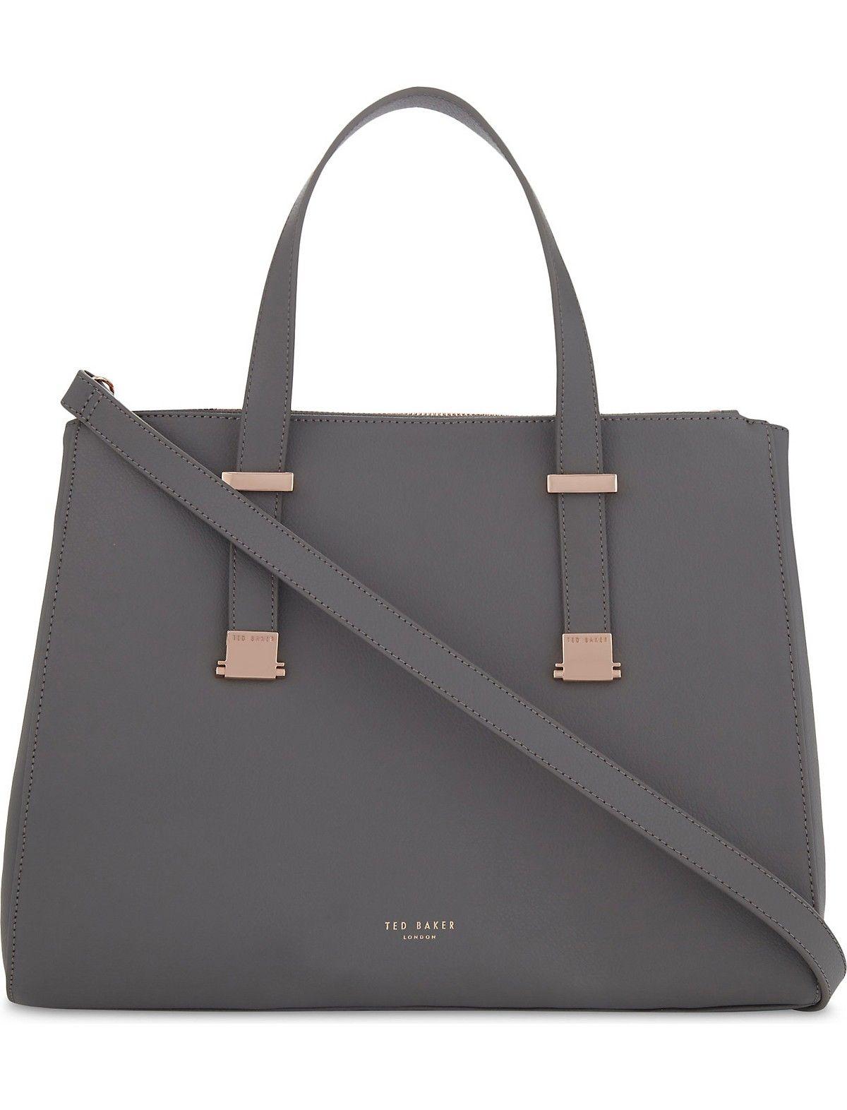 aed74f88f15e TED BAKER - Alunaa leather tote bag