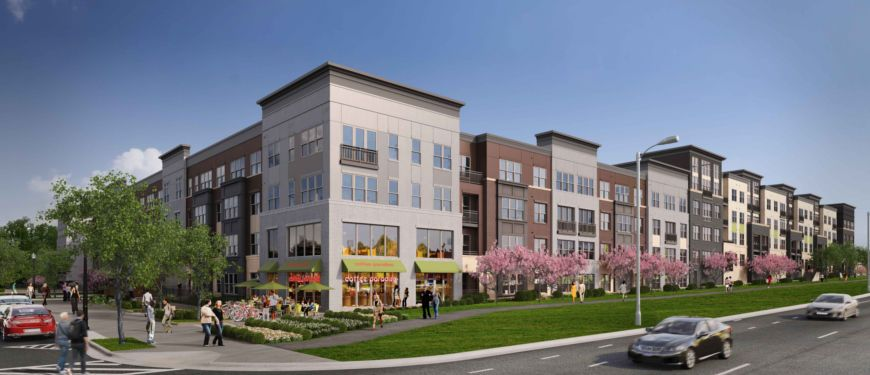 Mallory Square Luxury Apartments With Onsite Retail In Rockville, MD