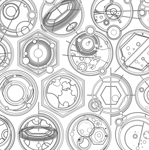 Take A Look Inside The New Doctor Who Coloring Book