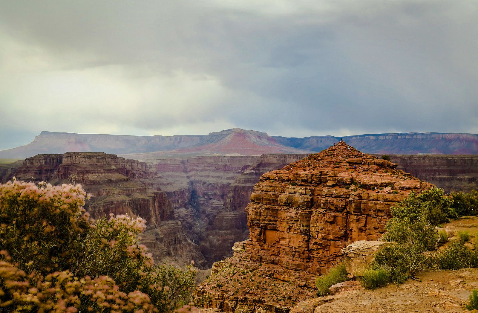 Guano Point, Grand Canyon   by heiditc