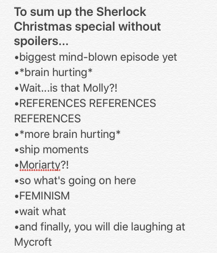 I LOVED THE ABOMINABLE BRIDE SHERLOCK SPECIAL | Christmas Tips ...