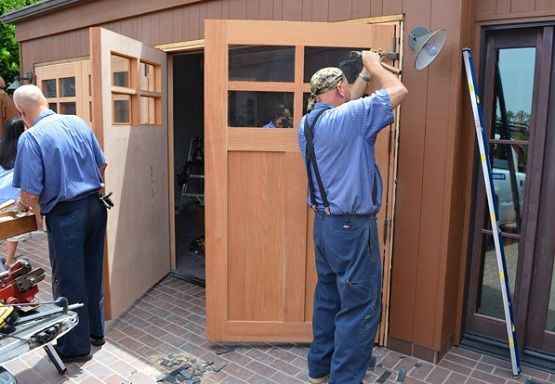 Swing Out Garage Doors How To Build In Three Steps Swing Out