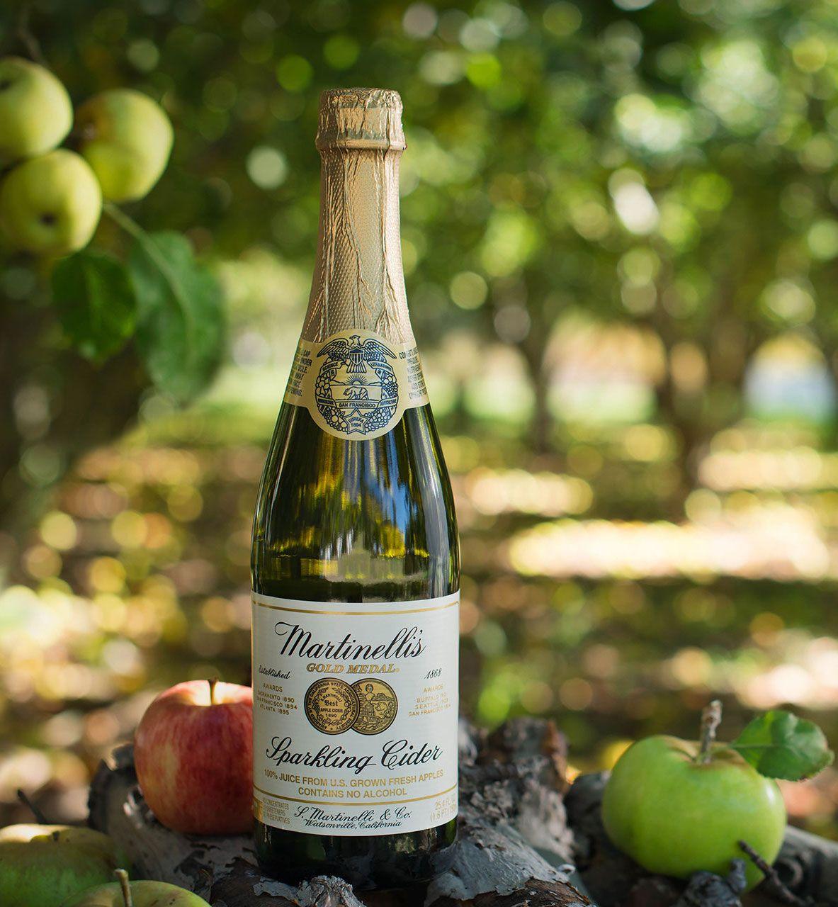 Heritage Label Sparkling Cider Sparkling Juices S Martinelli Co Sparkling Cider Cider Sparkling Juice