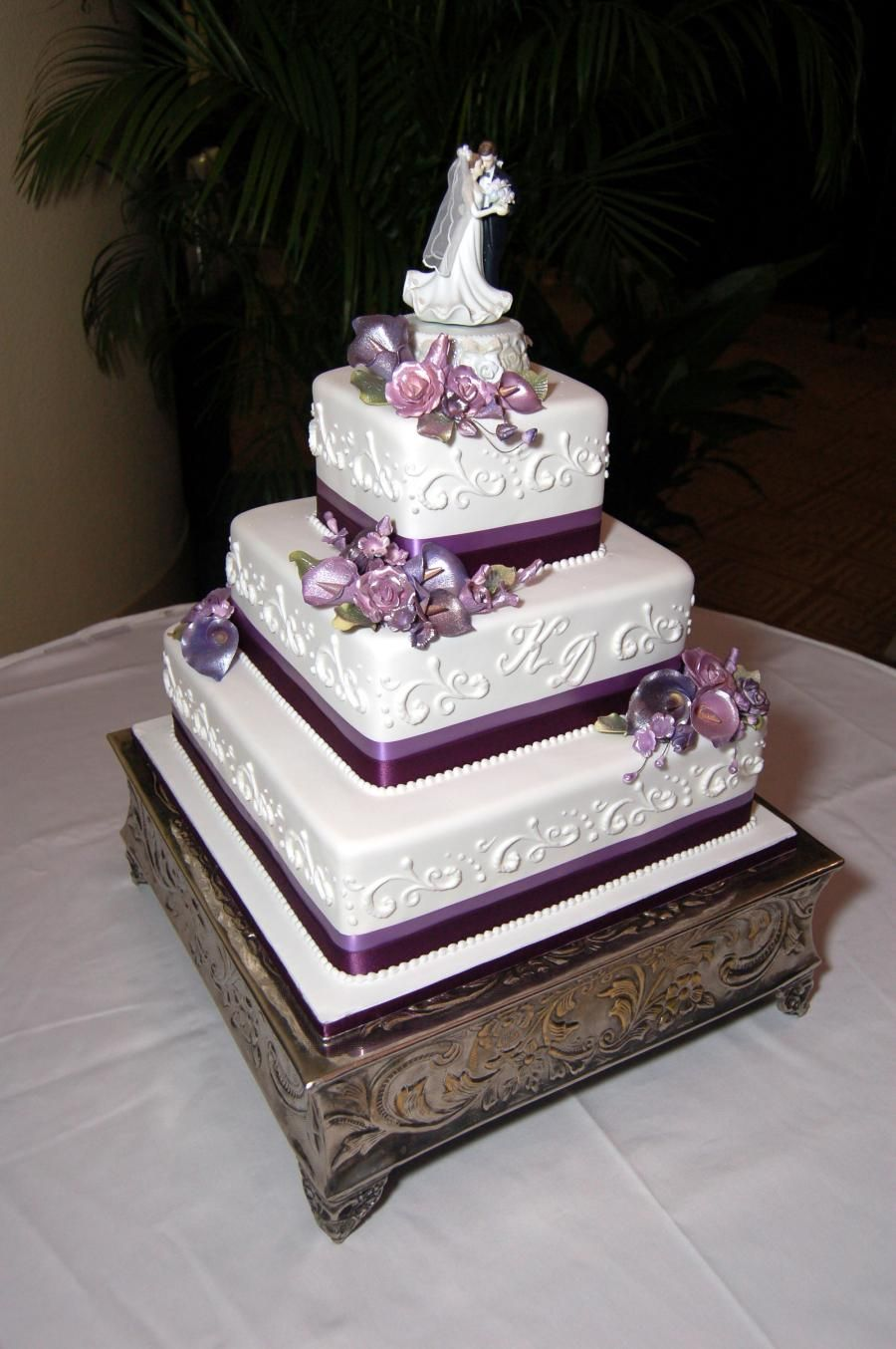 square three tier wedding cakes this 3 tier square wedding cake is simple and 20372