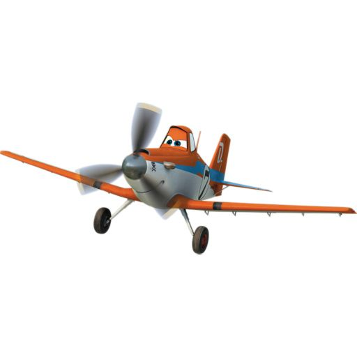 X4 Disney Planes résine