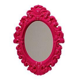 Anastasia Mirror 245mm x 180mm Pink