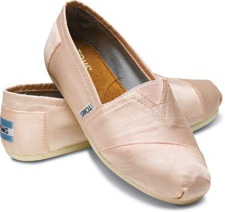 41e7f76782b0 Blush Pink Toms
