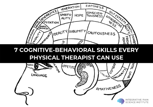 Cognitive-Behavioral Skills Every Physical Therapist Can