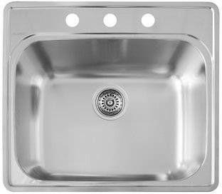 Blanco 441400 Sink Single Bowl Sink Steel Kitchen Sink
