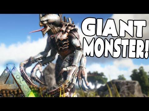 cool Ark Survival Evolved - BIGGEST MOST EPIC MONSTER IN ARK - (Ark