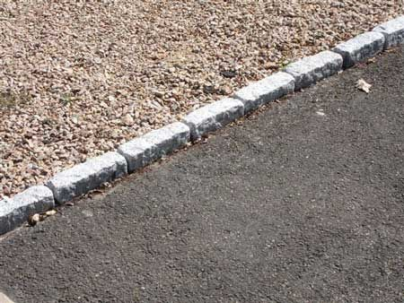 for Gravel path edging ideas