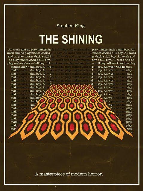 Shining #kubrick Alternative Movie Poster by Traumatron